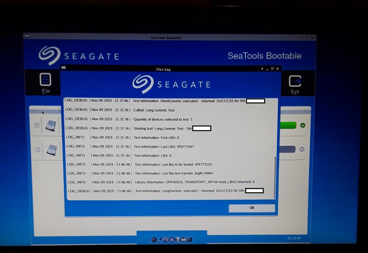 SeaTools Bootable